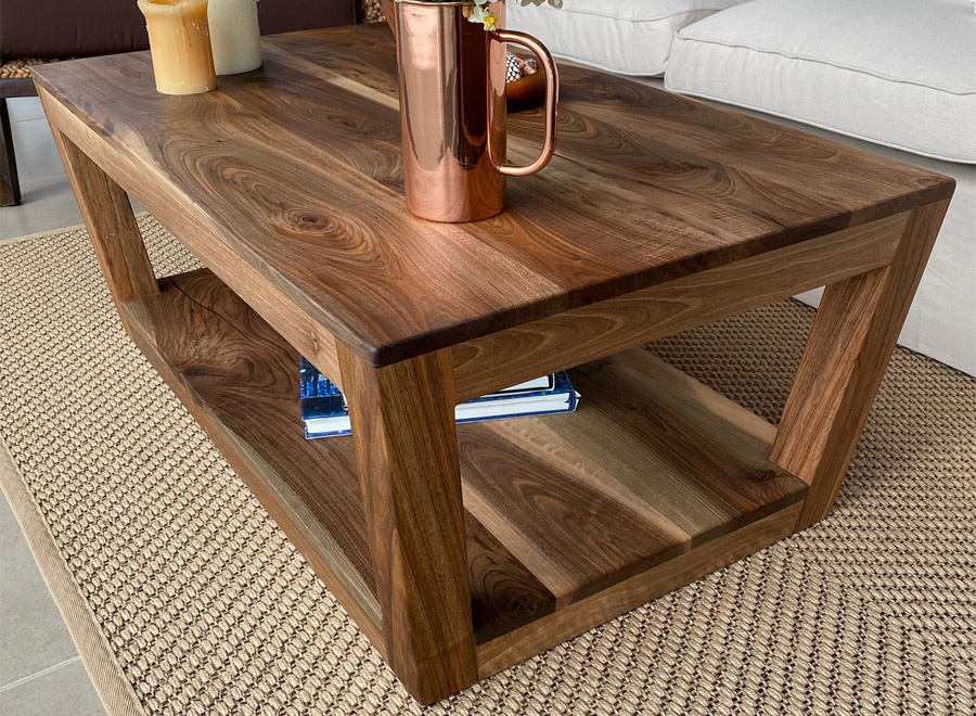 Sorgun Walnut Coffee Table