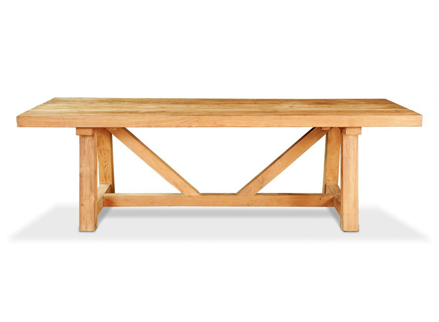 Gerence Natural Wood Table